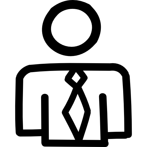 business-man-hand-drawn-outline